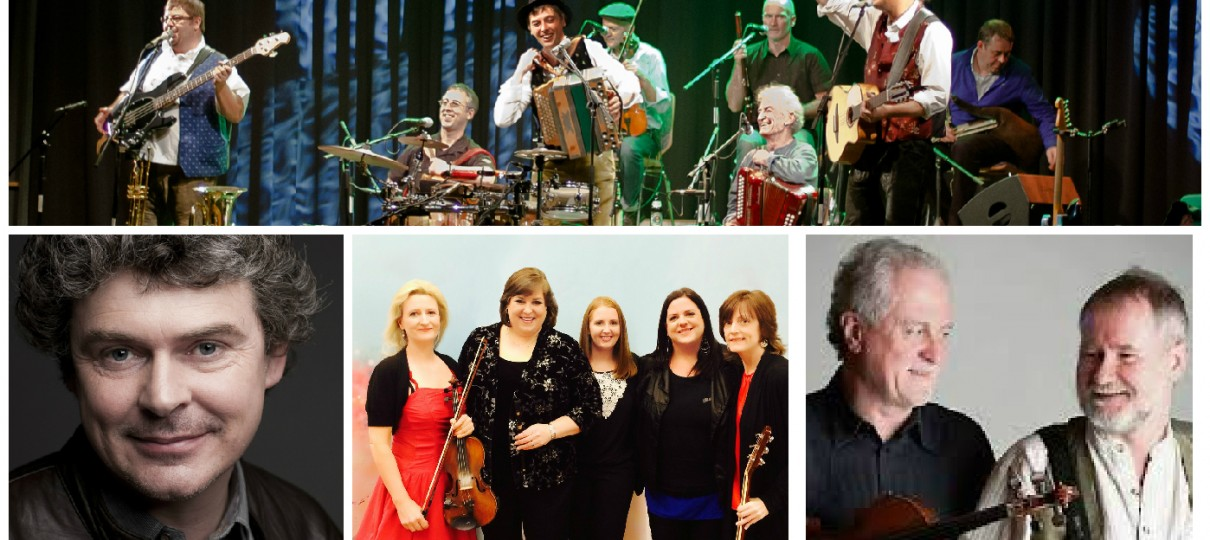 Irish Bayrisch, John Spillane, Cherish the Ladies, Matt Cranitch & Jackie Daly