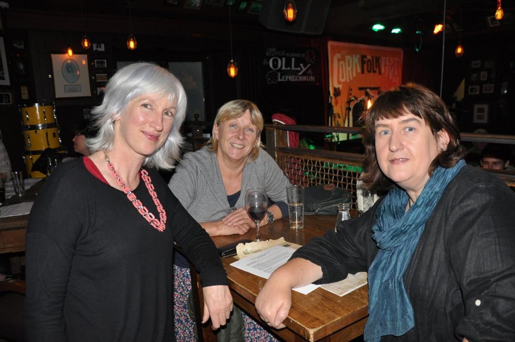 Christine Moore, Siobhan Beechinor & Valery