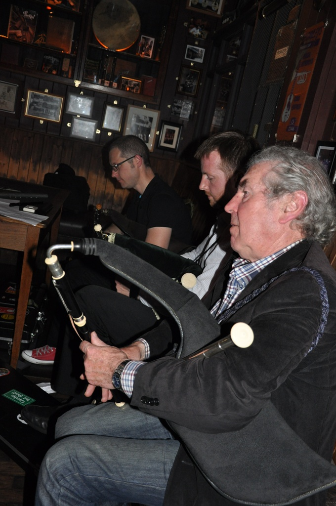 Cork Pipers Club, Anthony, Donal & John