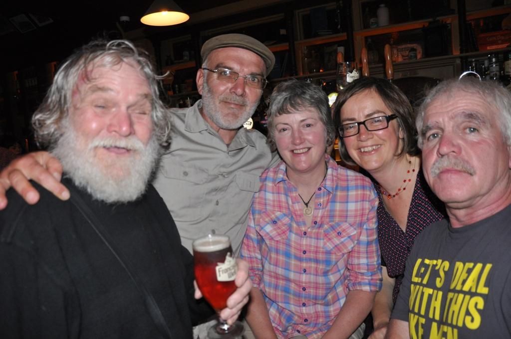Will Tetley, Mirco, Lindan Quinlan, Geraldine Quinlan & Gerry Miller