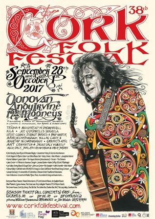 Cork Folk Festival Poster 2017