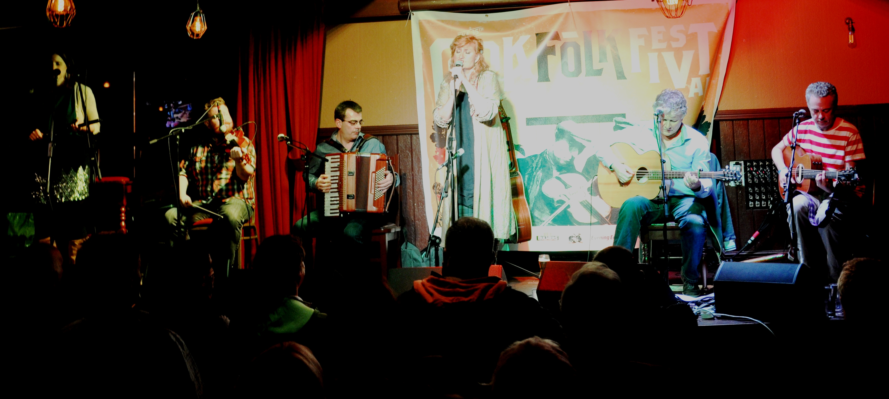 Alan Kelly Gang & Eddi Reader Folk Fest 2014 049