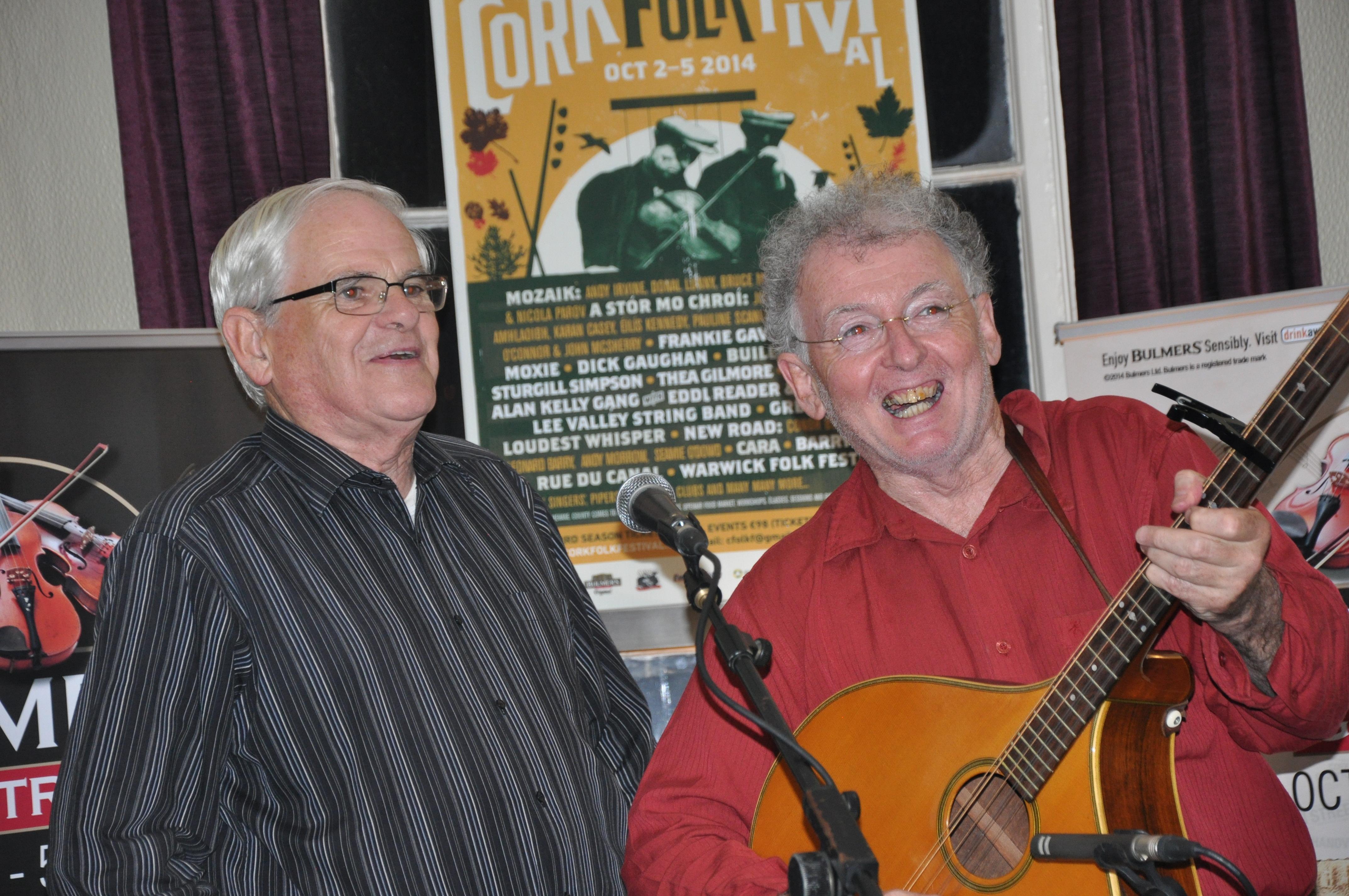 Jimmy Crowley & Sean O Se  Folk Fest 2014