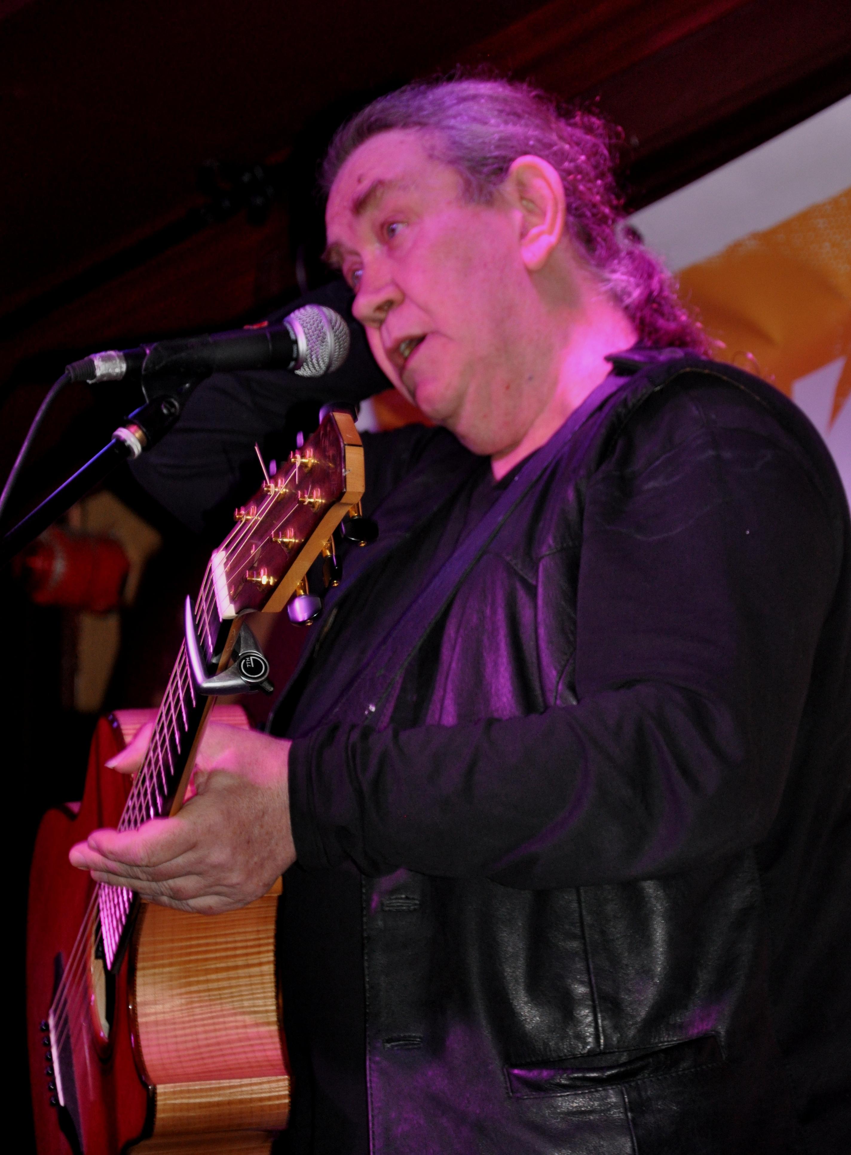 Dick Gaughan - Cork Folk Festival 2014
