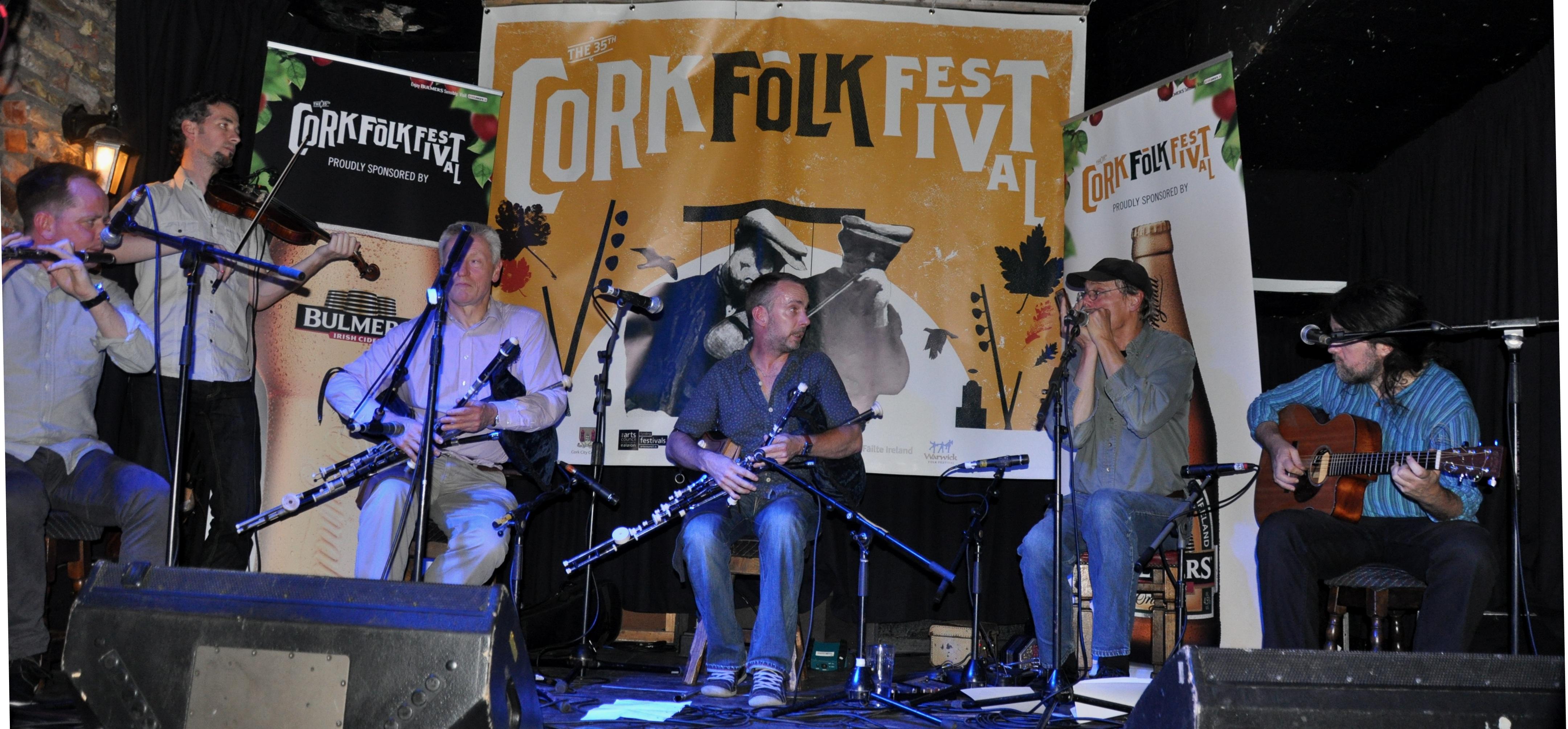 New Road with Mick O Brien - Cork Folk Festival 2014