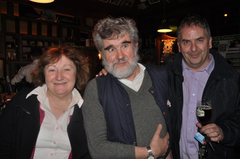 Carmel O' Keeffe, Padraig Buckley & Desi McCabe