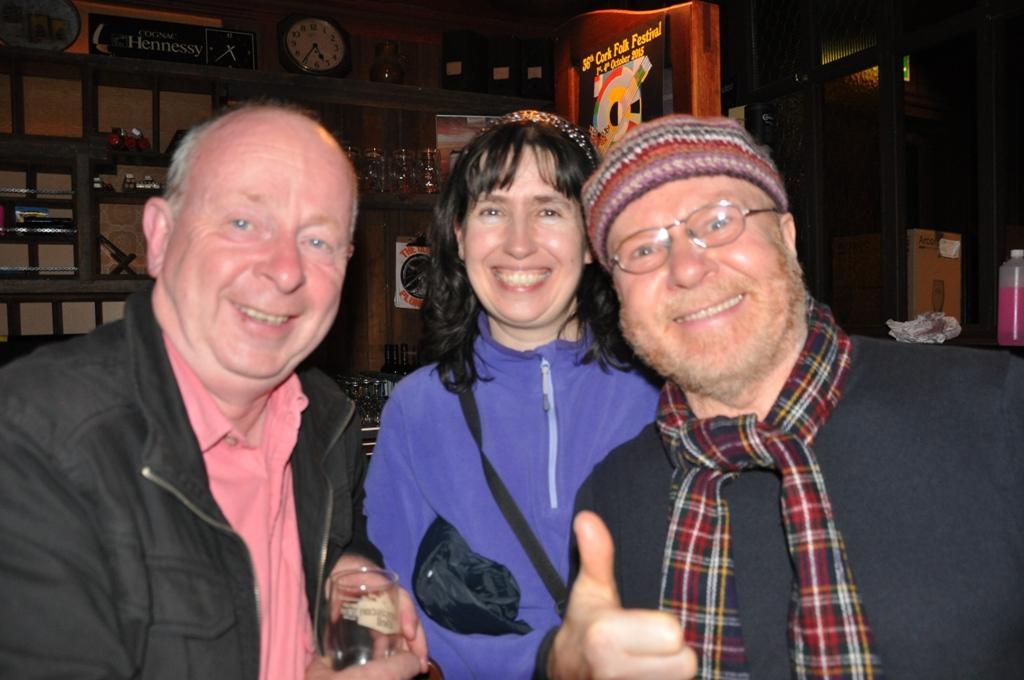 Ger O Mahoney, Catherine Courtney & Richard Cooke