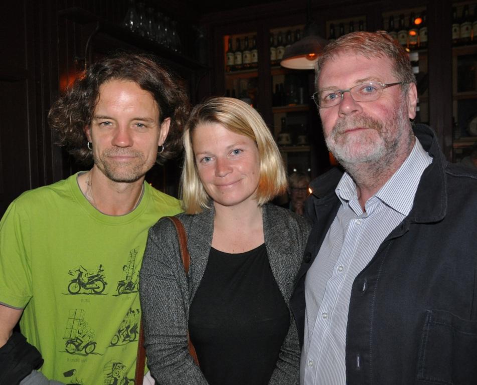Moray Bresnihan, Rose-Anne Kidney, Jim Walsh