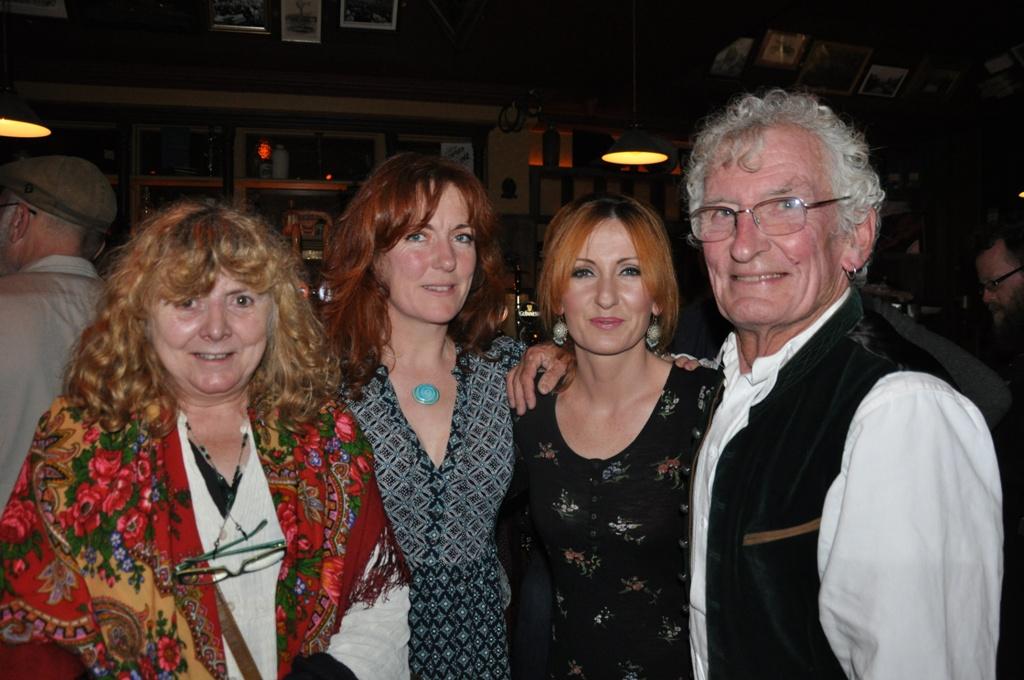 Rhona MacCarthy, Susan, Niamh & Timmy the Brit McCarthy