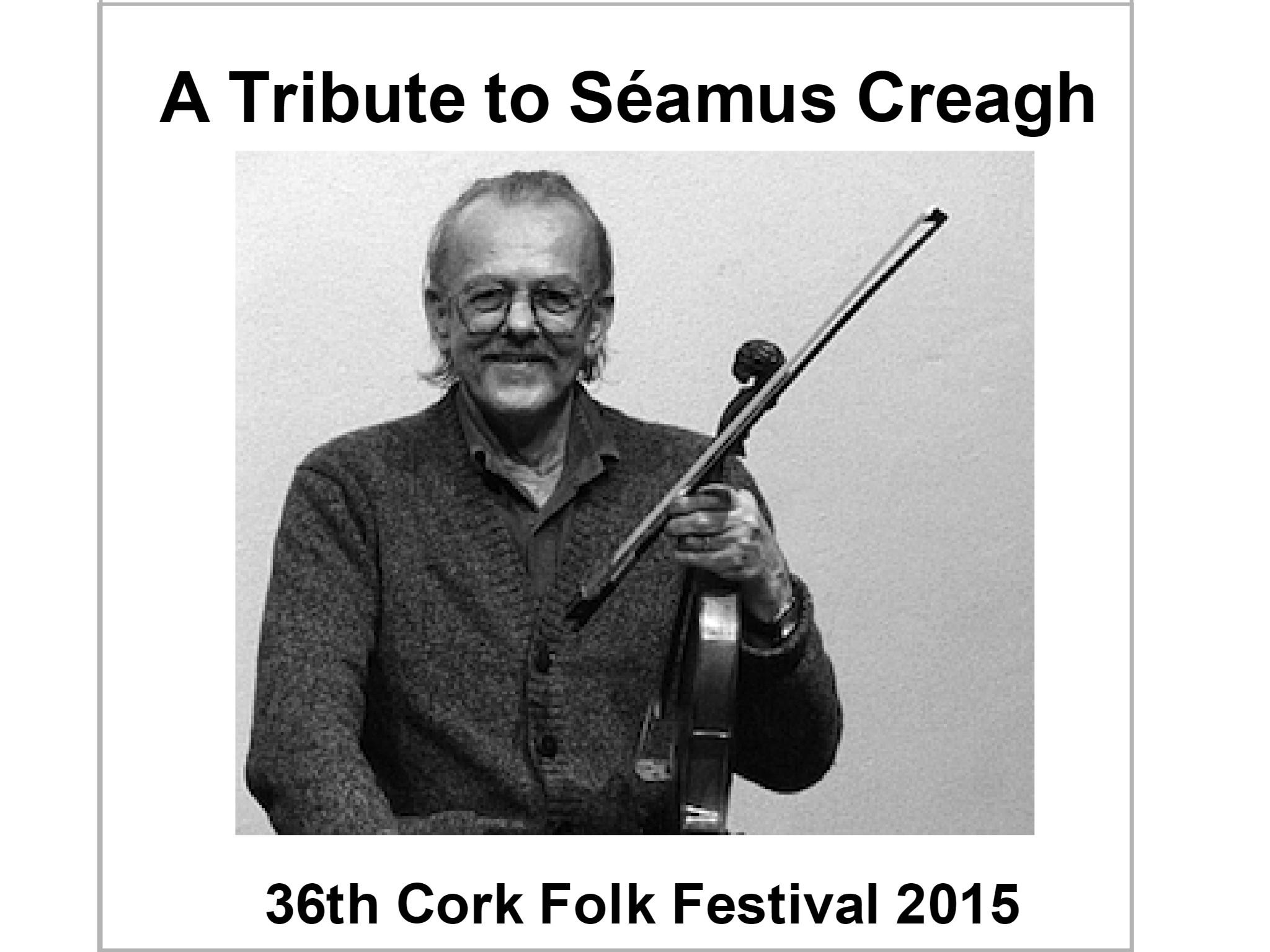 a tribute to seamus creagh logo