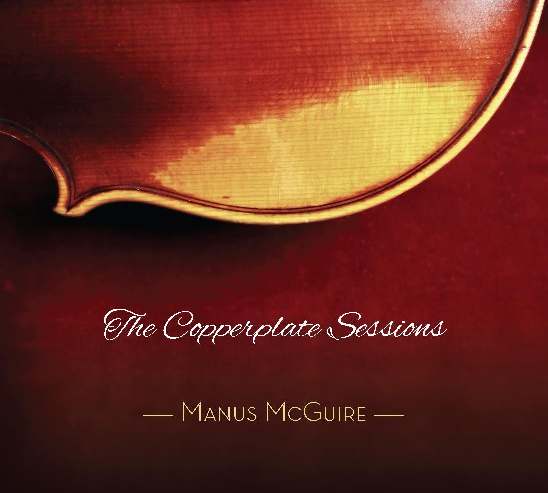 Manus McGuire CD Cover