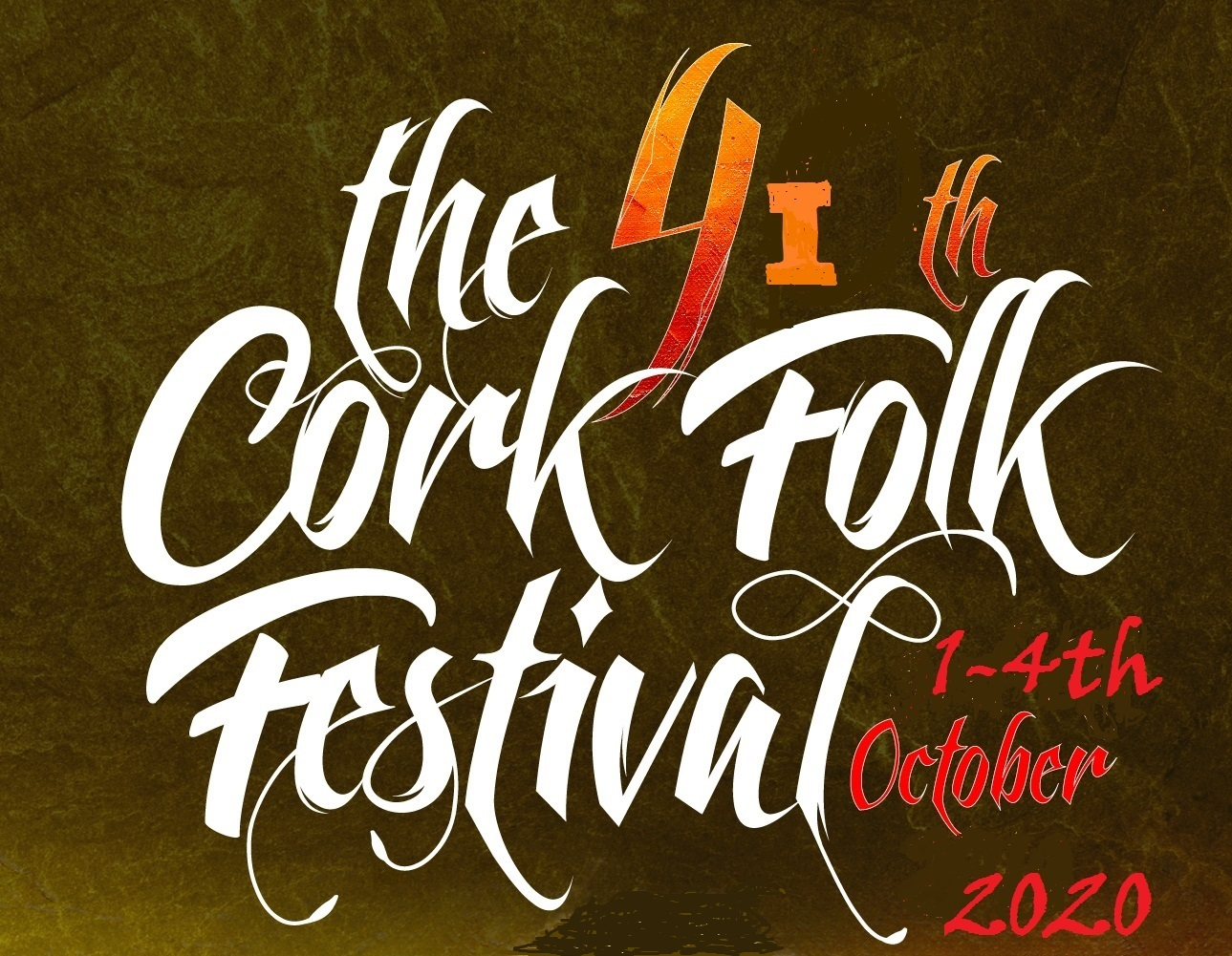 Cork Folk Festival - Cork, Ireland  1st-4th October 2020