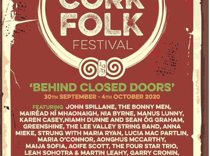Poster for 2020 Cork Folk Festival