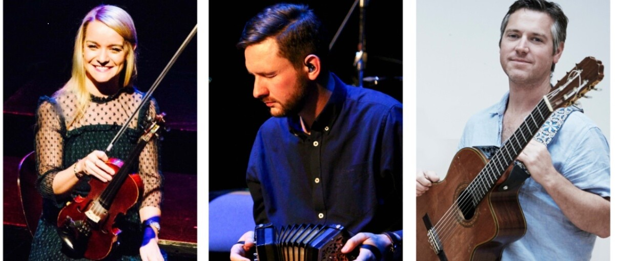 Jim Murray, Tara Breen & Padraig Rynne @ Triskel 2nd Oct